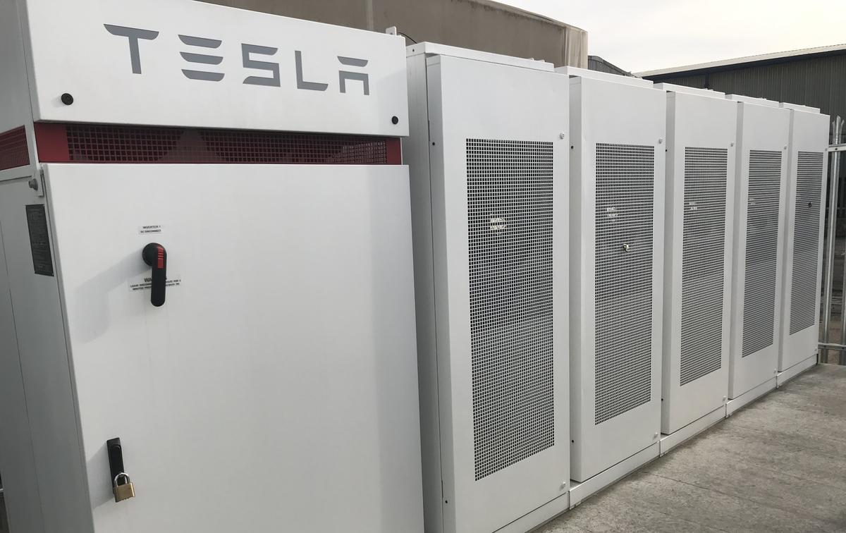Tesla Battery image