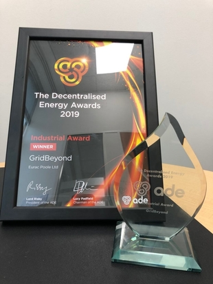 Decentralised Energy Awards 2019 Industrial Award - MAT Foundry